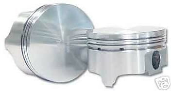 AUTO TEC SMALL BLOCK FORD-351W  FLAT TOP PISTONS