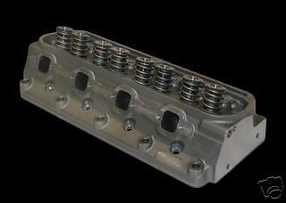 10711143P IRON EAGLE SBC 230/64CC 2.08/1.6 .650 LIFT HEADS & DART VALVE COVERS