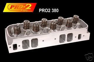 BBC PRO 2 DART CNC 380/124CC 2.3/1.88 .850 HEADS 19674136/CROWER SHAFT ROCKERS