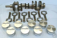 "B.B. CHRYSLER 505CI 4340 4.25"" 6"" H BEAM  FORGED PISTON  PUMP GAS STROKER KIT"