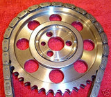 "BILLET 9 KEY TORRINGTON BEARING SBC/OLDS ""ROCKET"" BLOCK TIMING SET"
