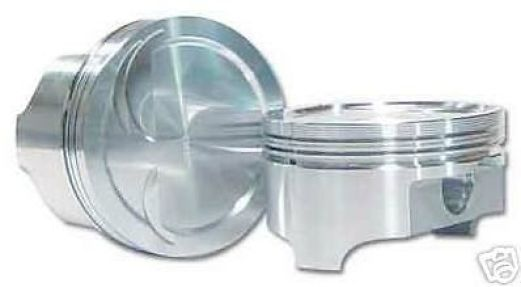 AUTO TEC SMALL BLOCK CHEVY 4.000 BORE INVERTED DOME PISTONS