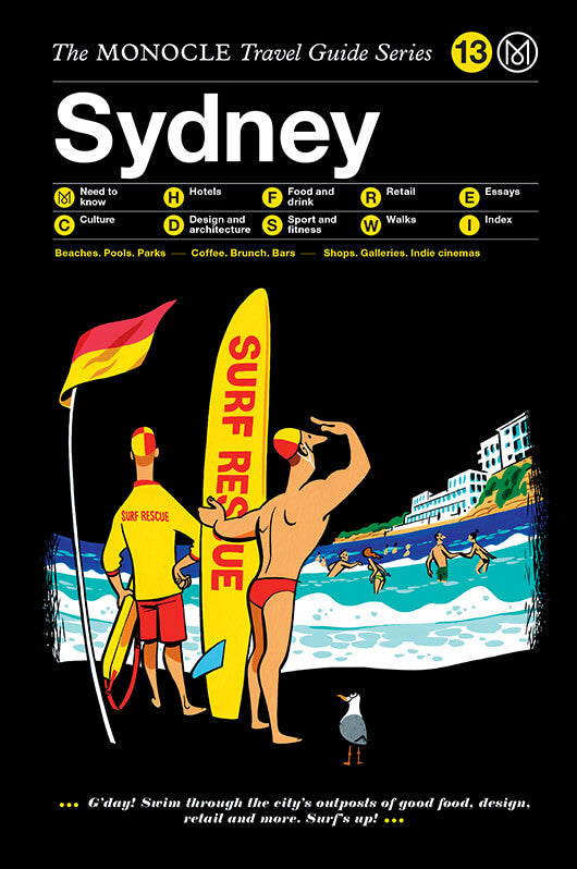 MONOCLE TRAVEL GUIDE SYDNEY - SÉRENDIPITÉ