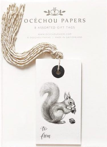 GIFT TAG BY OCECHOU - SET OF 8 - SÉRENDIPITÉ