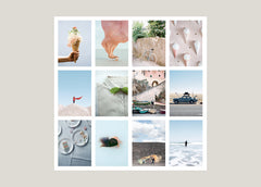 POSTCARD BY KINFOLK - WEEKEND EDITION - SET OF 12 - SÉRENDIPITÉ