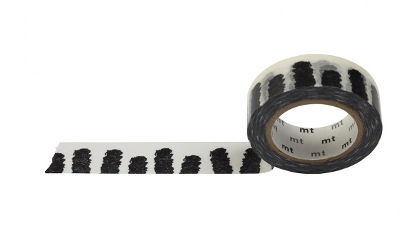 MASKING TAPE BLACK AND WHITE (BATON) - SÉRENDIPITÉ