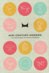 MID-CENTURY MODERN 100 POSTCARDS OF ICONIC DESIGNS (CARTE)