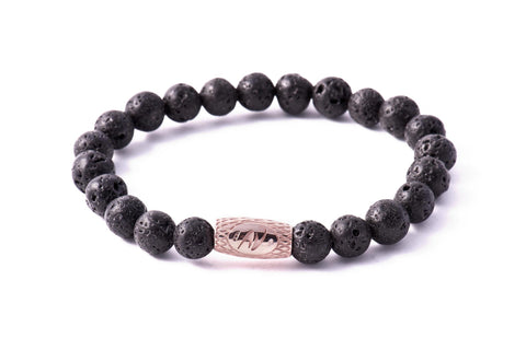 Stone Grey Lava - Pink Gold