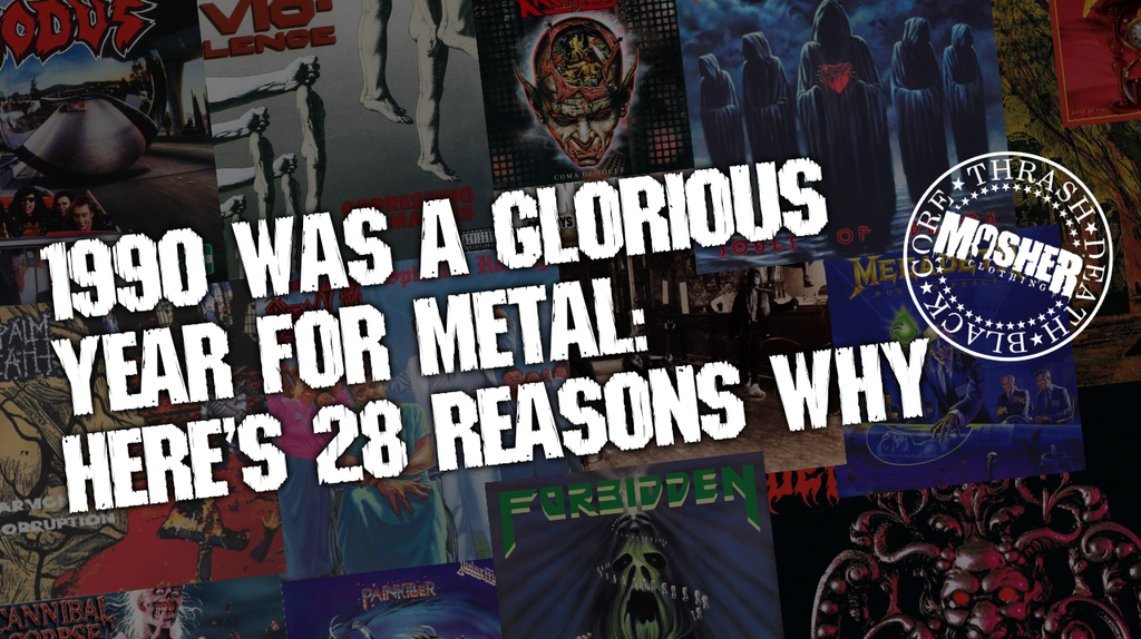 1990 Was A Glorious Year For Metal - Here's 28 Reasons Why