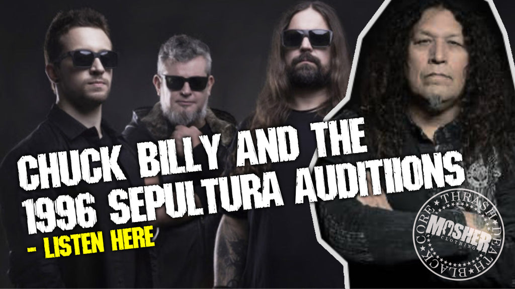 [Listen] That time Chuck Billy auditioned for Sepultura