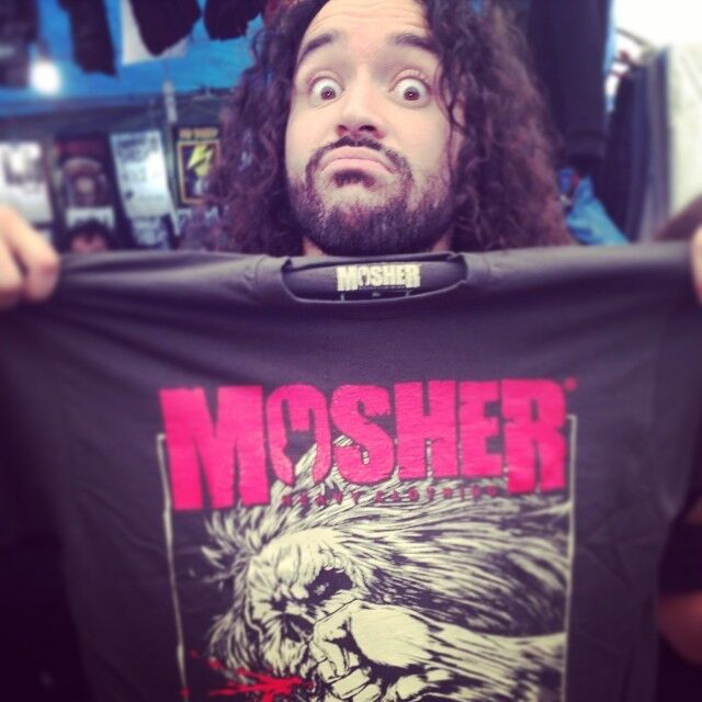 David Sanchez of Havok with Mosher Clothing