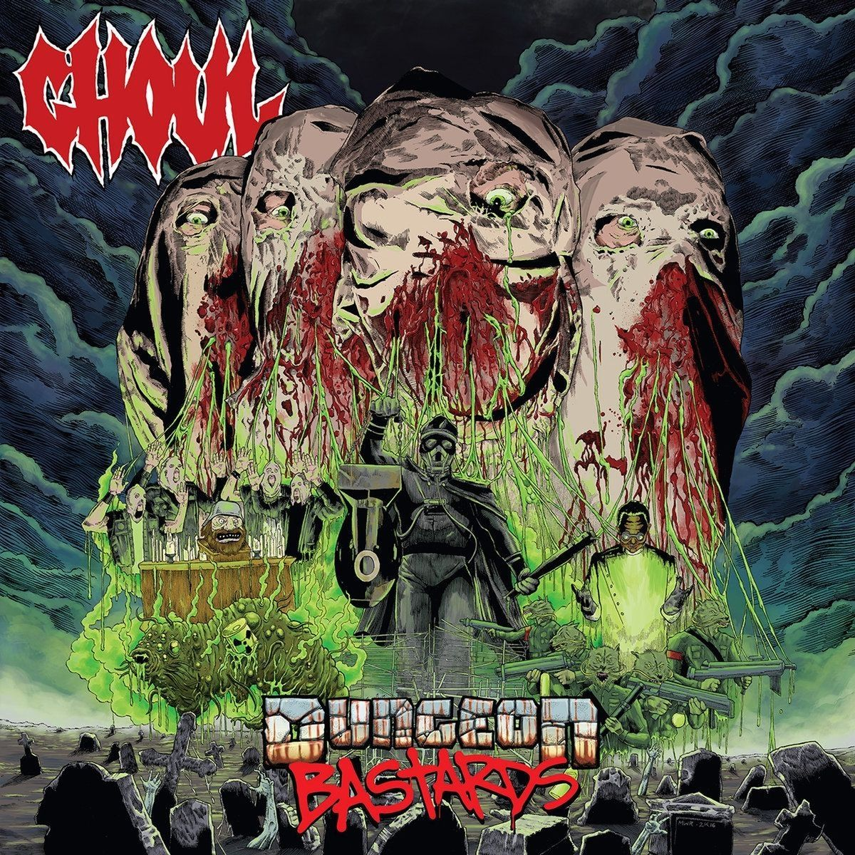 Ghoul - Dungeon Bastards (2016)