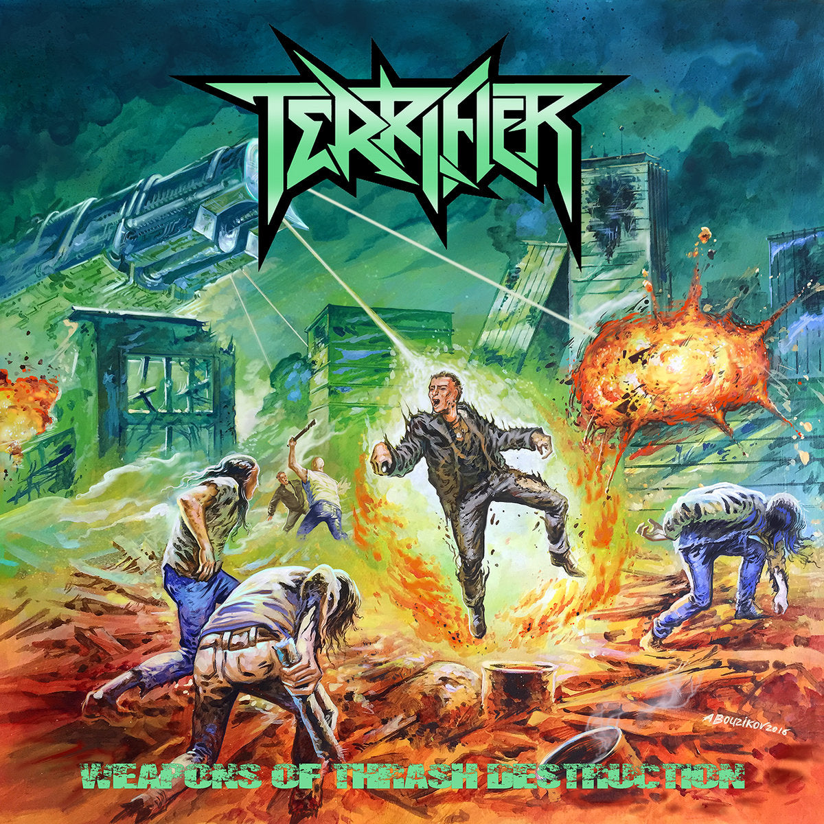 Terrifier - Weapons of Thrash Destruction (2017)