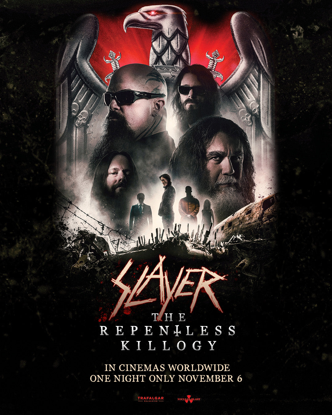 Slayer The Repentless Killogy Poster