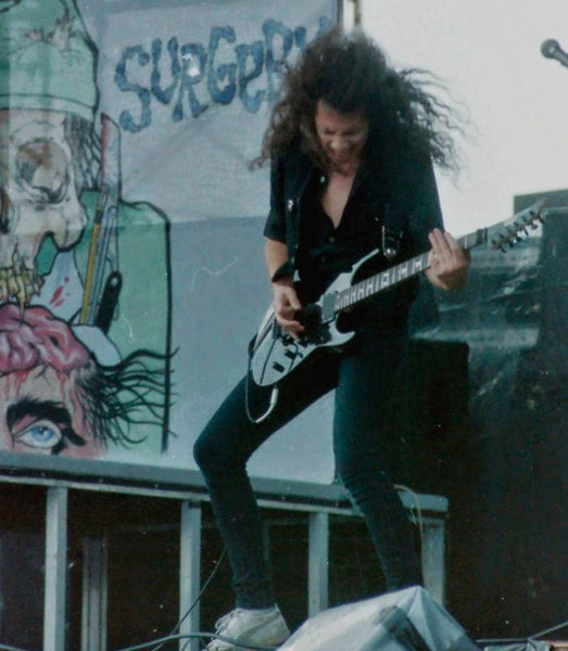 Old School Kirk Hammett 1987 Metallica