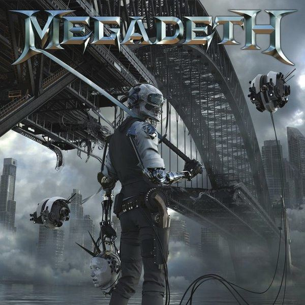 Megadeth Dystopia album art cover