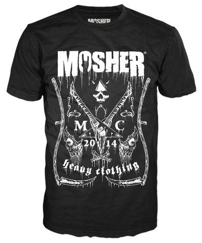 Black Label T-Shirt by Mosher Clothing