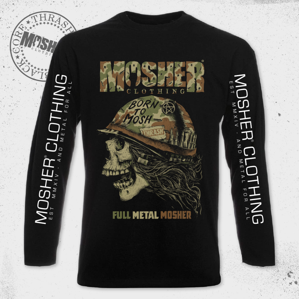 Full Metal Mosher Long Sleeve
