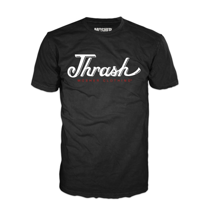 Thrash metal shirt by Mosher Clothing for metalheads worldwide