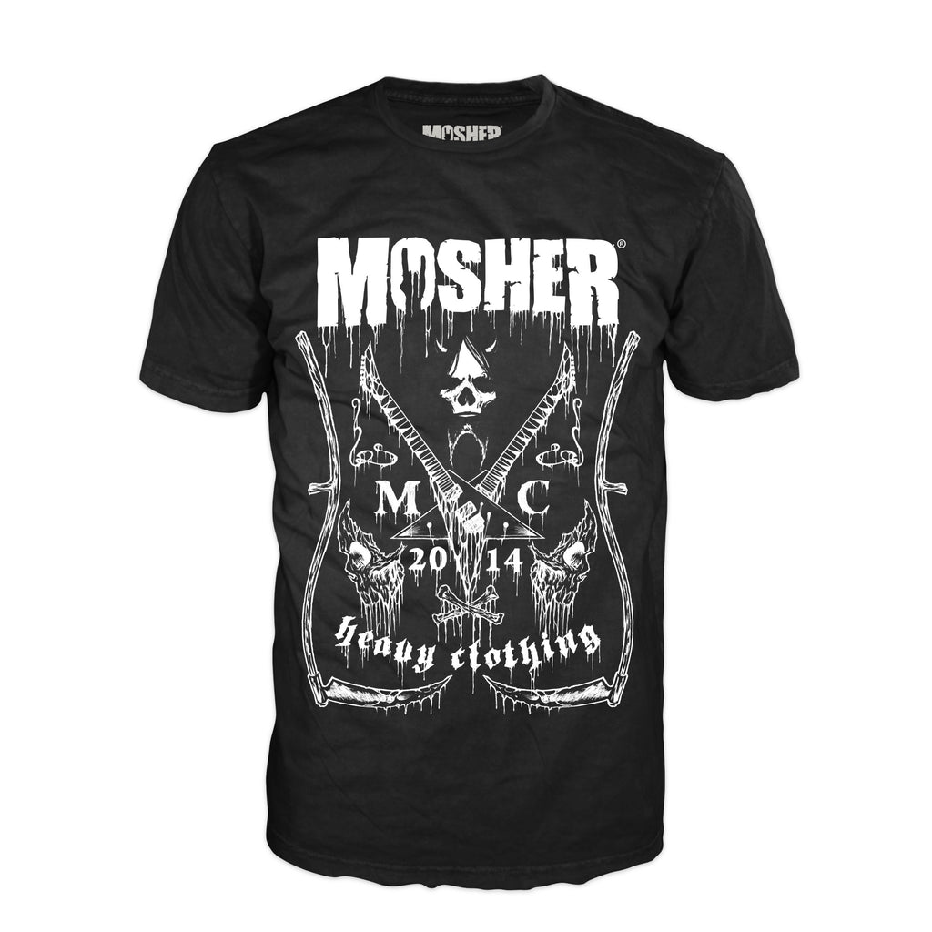 Mosher Clothing - Black Label T-shirt for metalhead