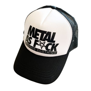 Metal AF cap for metalheads by Mosher Clothing