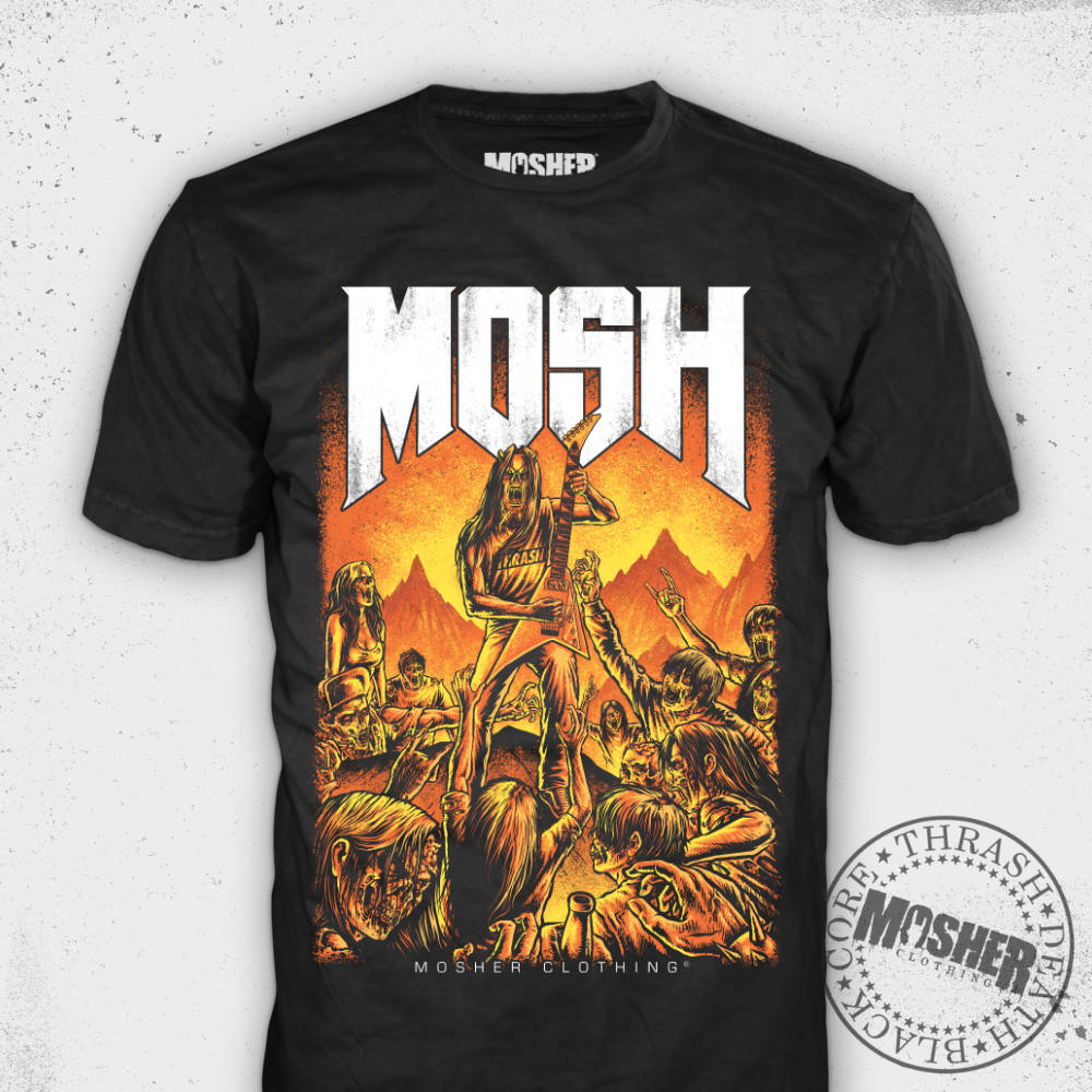 Moshpit Doom - Tshirt for metalhead by Mosher Clothing