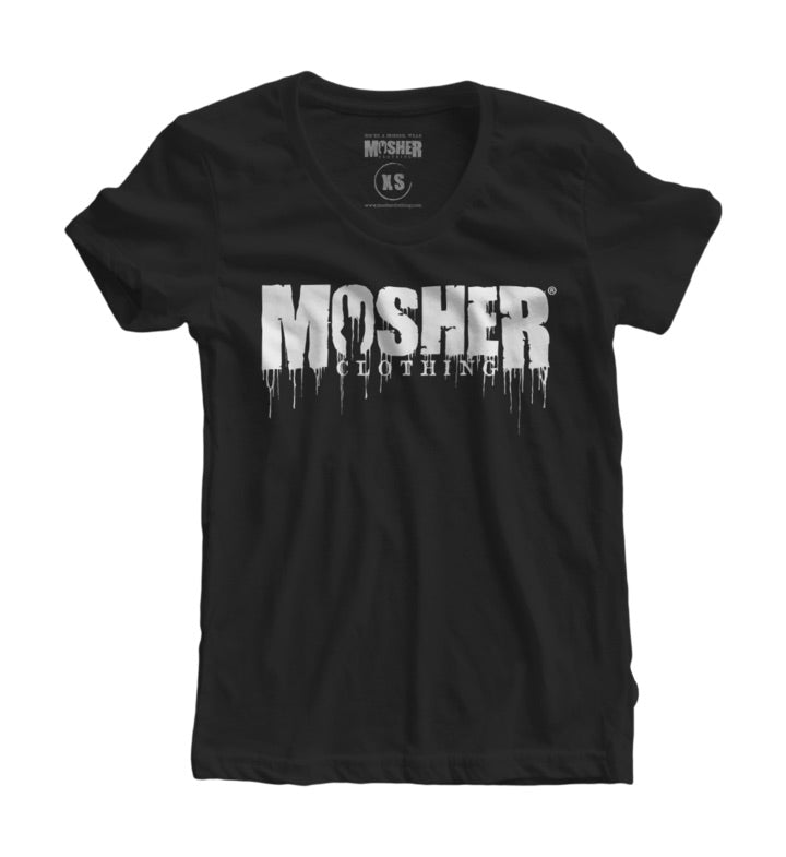 Mosher Clothing T-shirt for women metalheads!