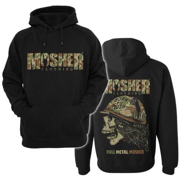 Full Meal Mosher Hoodie by Mosher Clothing™