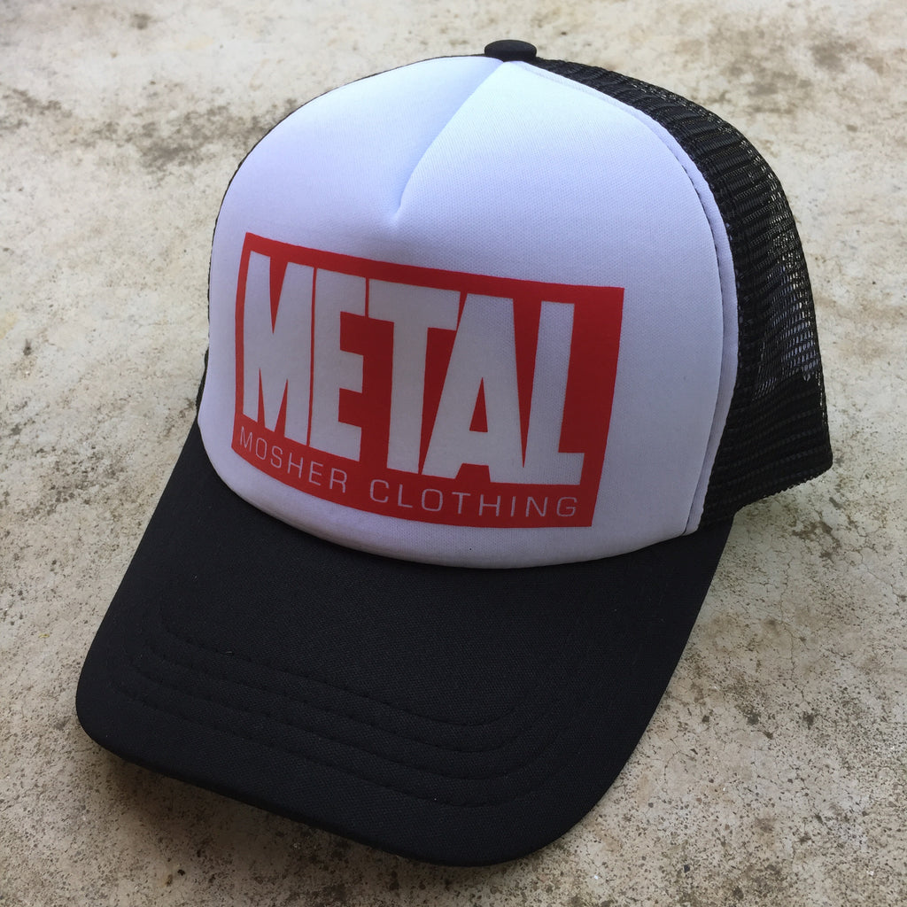 Metal Trucker Hat