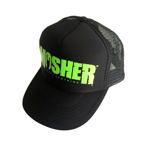 Mosher Trucker Hat - Black and Green