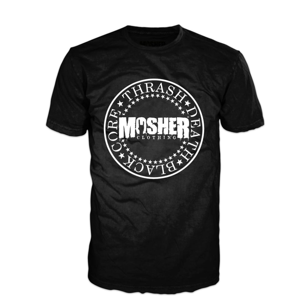 Mosher Clothing - Thrash Death Black Core Metal Shirt for metalheads