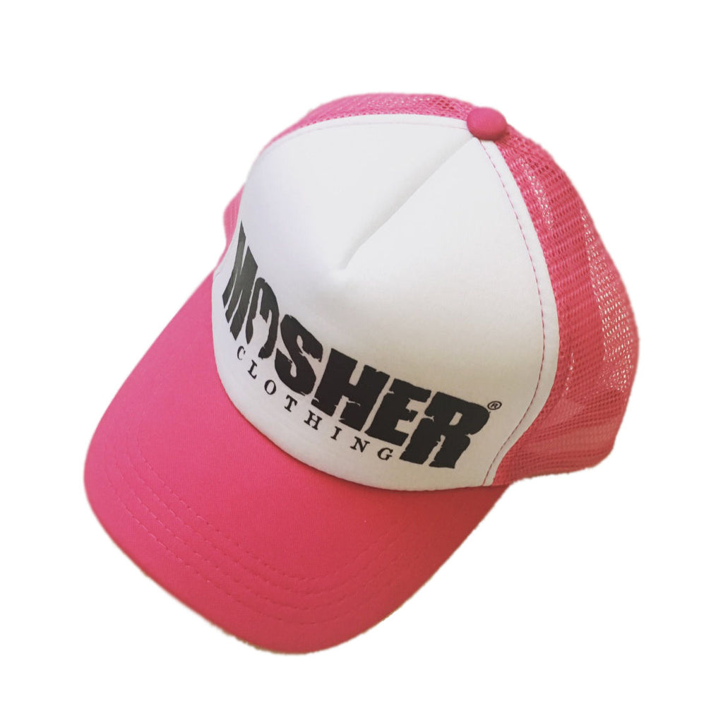 Mosher Trucker Hat - Pink