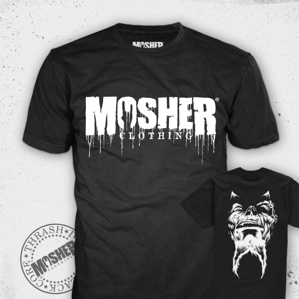 """Watch Your Back"" - Tshirt for metalheads by Mosher Clothing"