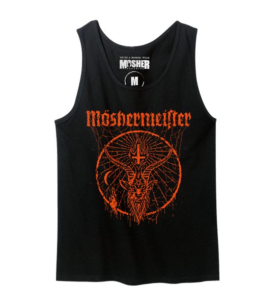 Moshermeister tanktop for metalheads by Mosher Clothing