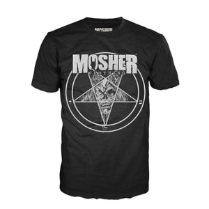 Mosher Pete-agram t-shirt for metalheads by Mosher Clothing