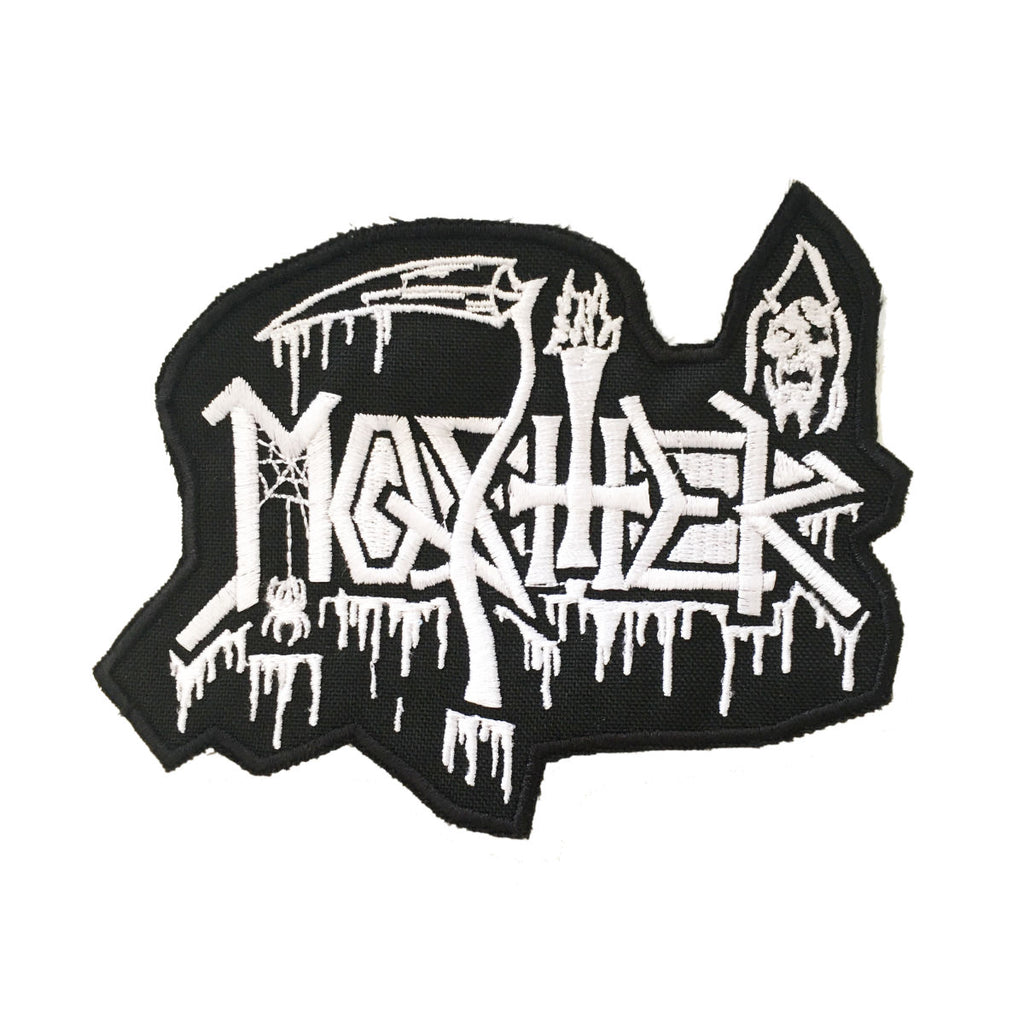 """Death Mosher"" patch by Mosher Clothing™"