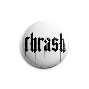 Thrash metal pin for metalheads by Mosher Clothing