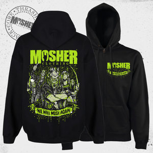 We Will Mosh Again 2021 Zipper Hoodie