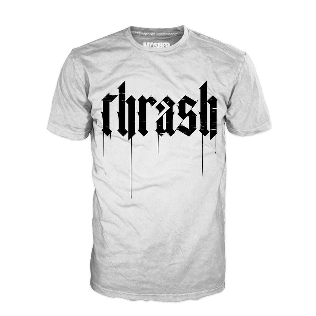 Thrash Metal v2.0 t-shirt for metalheads by Mosher Clothing