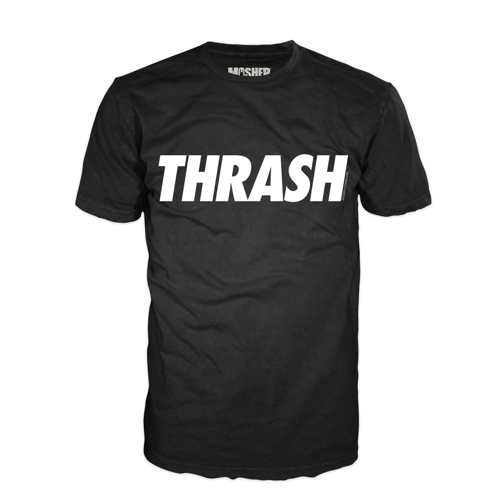 Thrash Metal t-shirt for metalheads by Mosher Clothing™