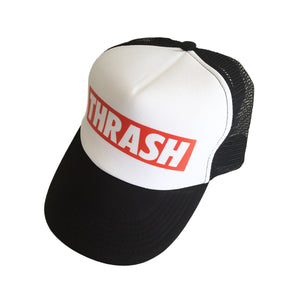 Thrash Trucker Hat for metalheads by Mosher Clothing