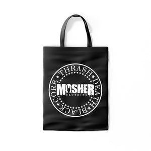 Mosher Circular Logo Totebag for metalheads by Mosher Clothing