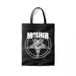 Mosher Pete-agram Totebag for metalheads by Mosher Clothing