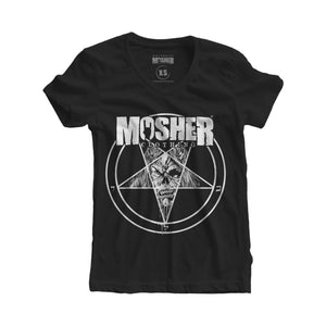 Women's Mosher Pete-agram for metalheads by Mosher Clothing