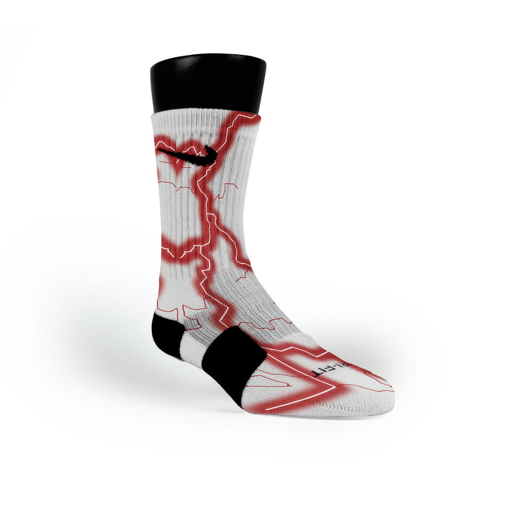 Alabama Storm Custom Nike Elite Socks