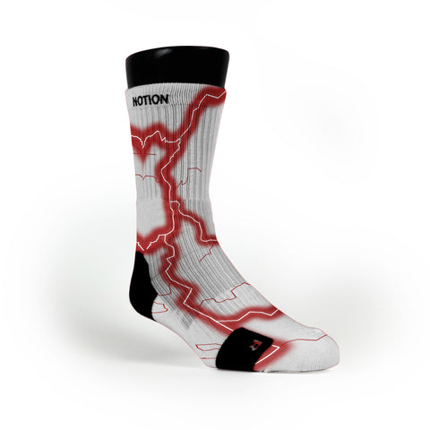 Alabama Storm Custom Notion Socks