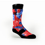 All Star Galaxies Custom HoopSwagg Socks
