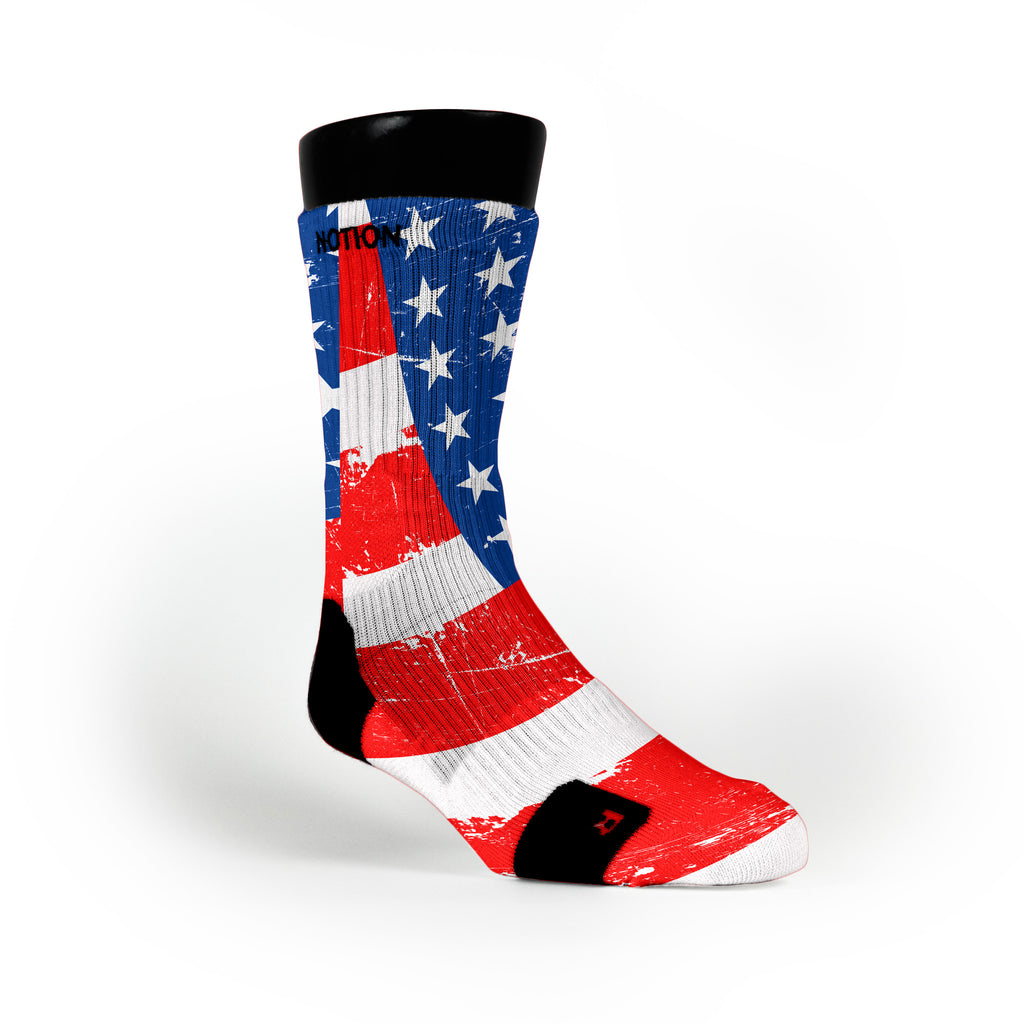American Glory Custom Notion Socks