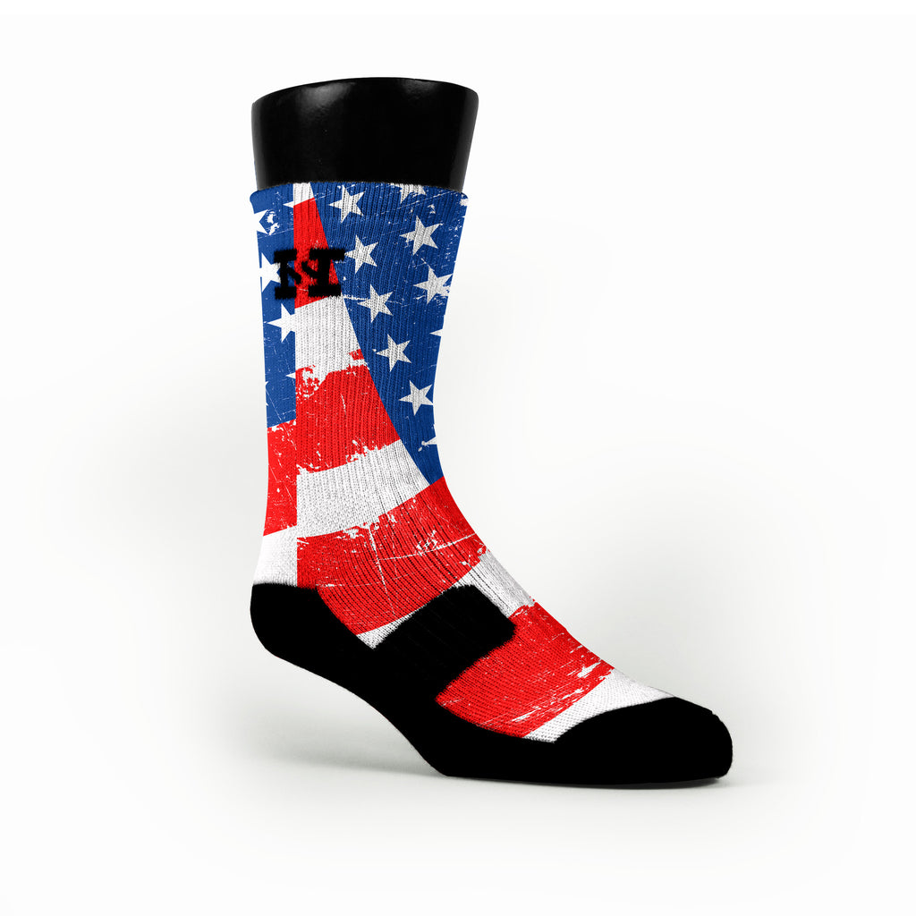 American Glory Custom HoopSwagg Socks