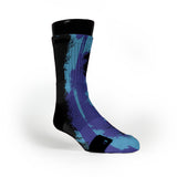 Aqua Eruption Custom Notion Socks